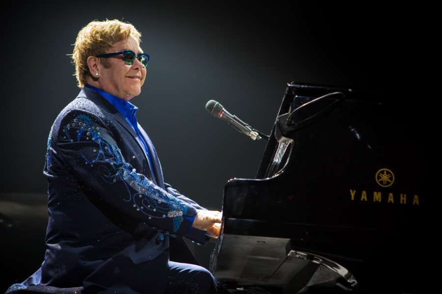 Elton John and his band have been confirmed for Nocturne 2016 at Blenheim Palace. Photo by Kenny Williamson NNL-151127-101627001