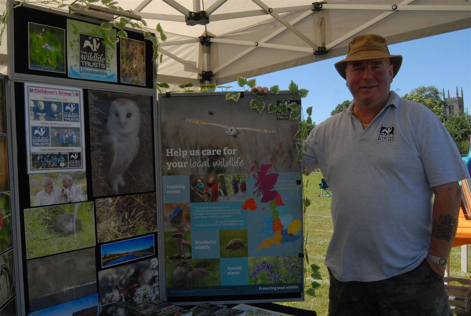 Martin Knowles of the Lincolnshire Wildlife Trust