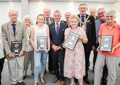 Lincolnshire Good Citizen award winners from 2016.