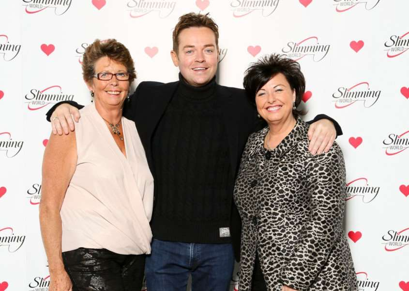Jenny Summers and Cheryl Hall get a chance to meet TV presenter Stephen Mulhern
