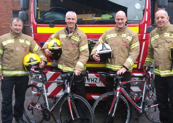Bourne firefighters will take on the Three Peaks Challenge.