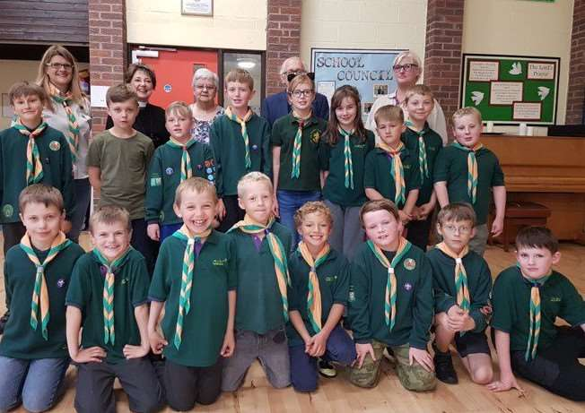 1st Bourne Pillar Wood Cub pack will be going on the battlefields trip to Belgium. Submitted