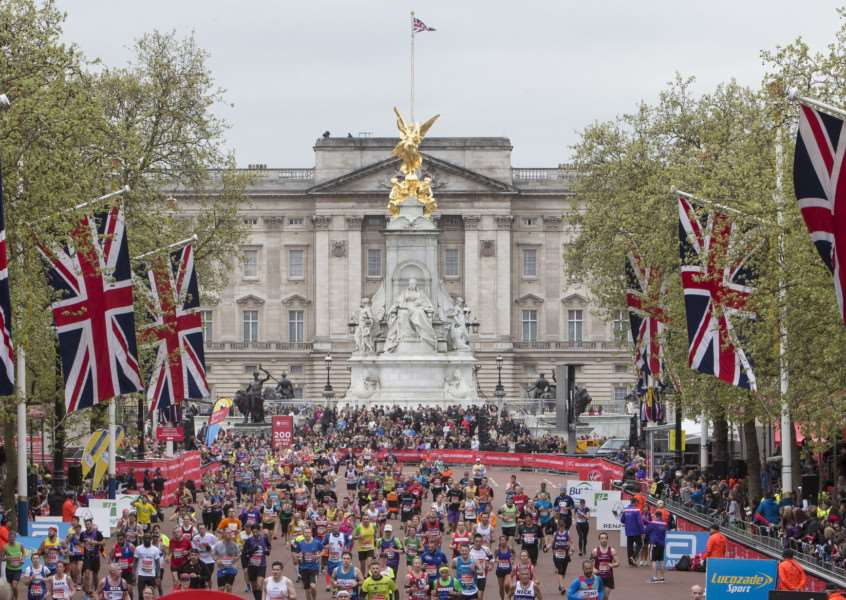 London Marathon Photo: Virgin Money London Marathon EMN-160604-145339001