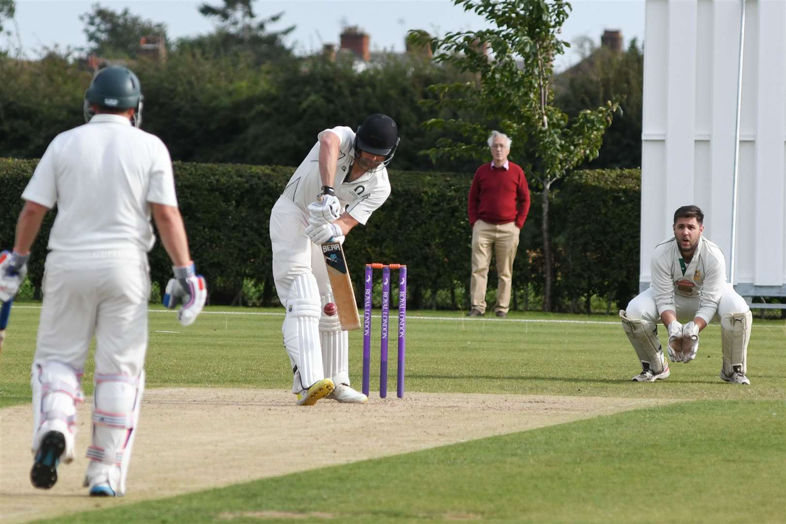 Oakham defeated Uppingham on Saturday to win the Leicestershire League Division One title. Photo: Alan Walters (16693613)