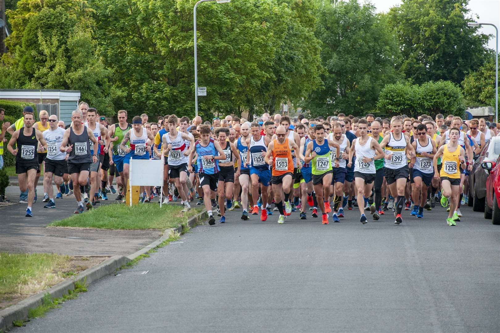 Stamford Striders staged the fourth round of the Peterborough Grand Prix Series. Photo: Lee Hellwing (13977835)