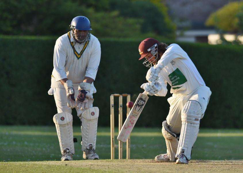 Emile Kriek cracked 104 and took 4-15 for Market Deeping at Sleaford.