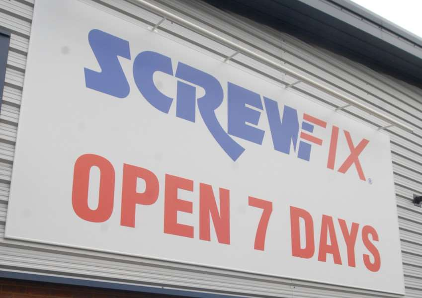 Screwfix, Cherry Holt Square, Cherry Holt Road, Bourne. File picture.'Photo: MSMP060813-011ow ENGEMN00120130708141924