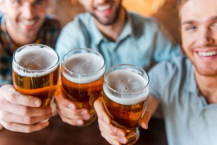 The majority of doctors polled said they thought moderate alcohol consumption could be part of a healthy lifestyle
