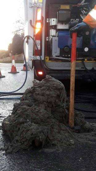 The wet wipes 'fatberg monster' (7289142)