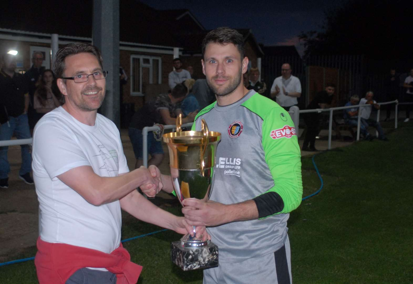 First silverware of the season for Stamford after Armstrong opens goalscoring account
