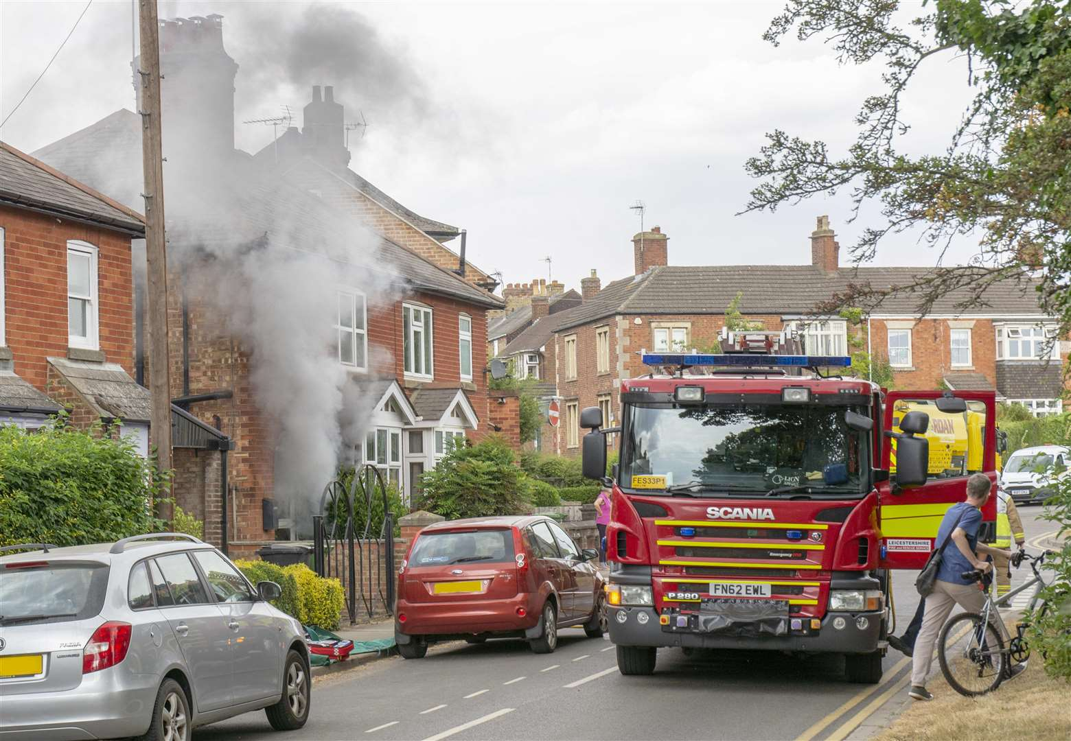 Updated: Elderly woman dies following Oakham fire