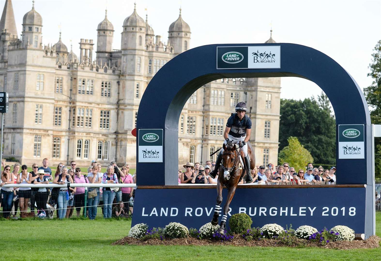 Defending Land Rover Burghley Horse Trials champion heads the entries for this year's competition