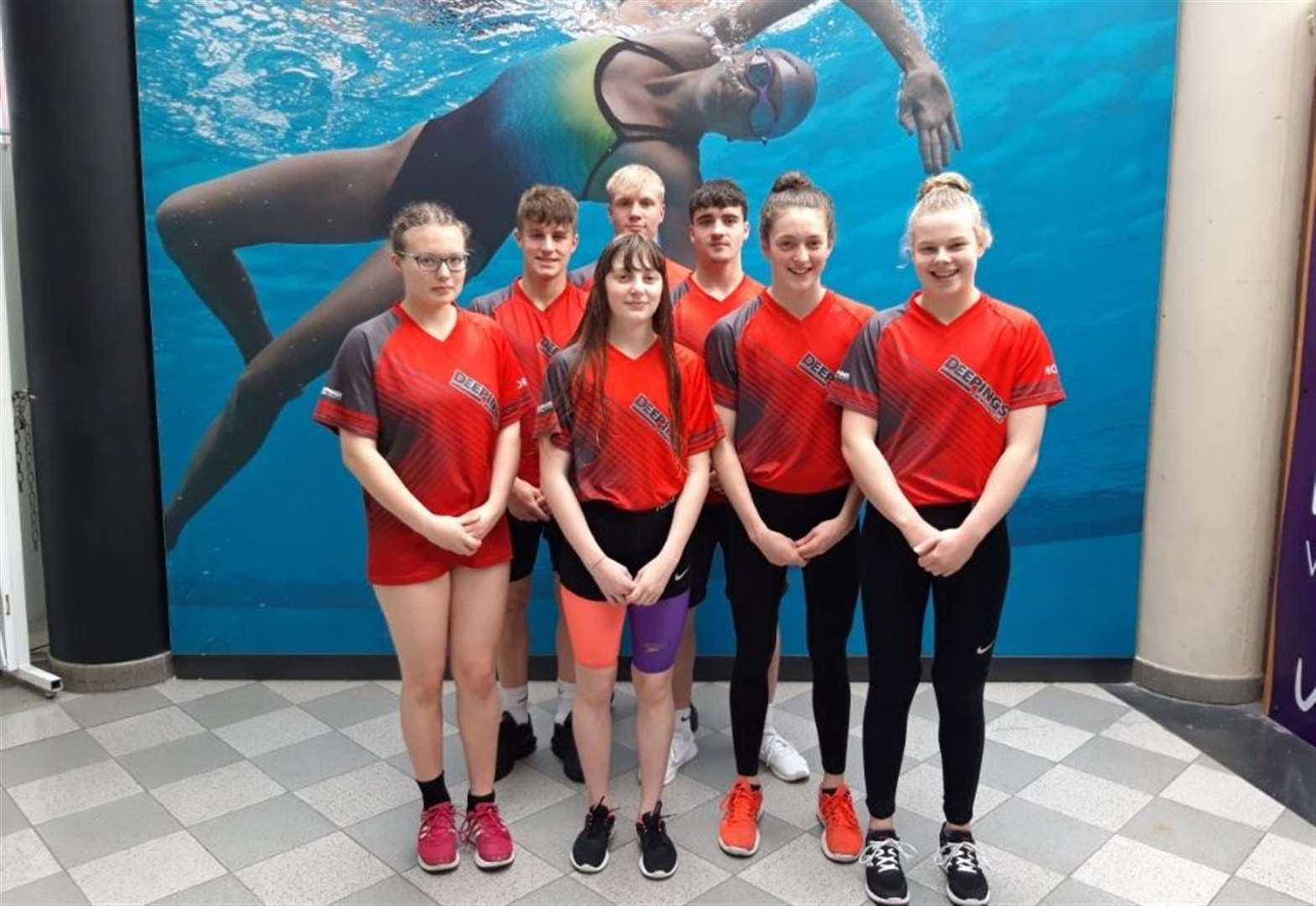 Bethany bags brace for Deepings swimmers at East Midlands Youth Championships