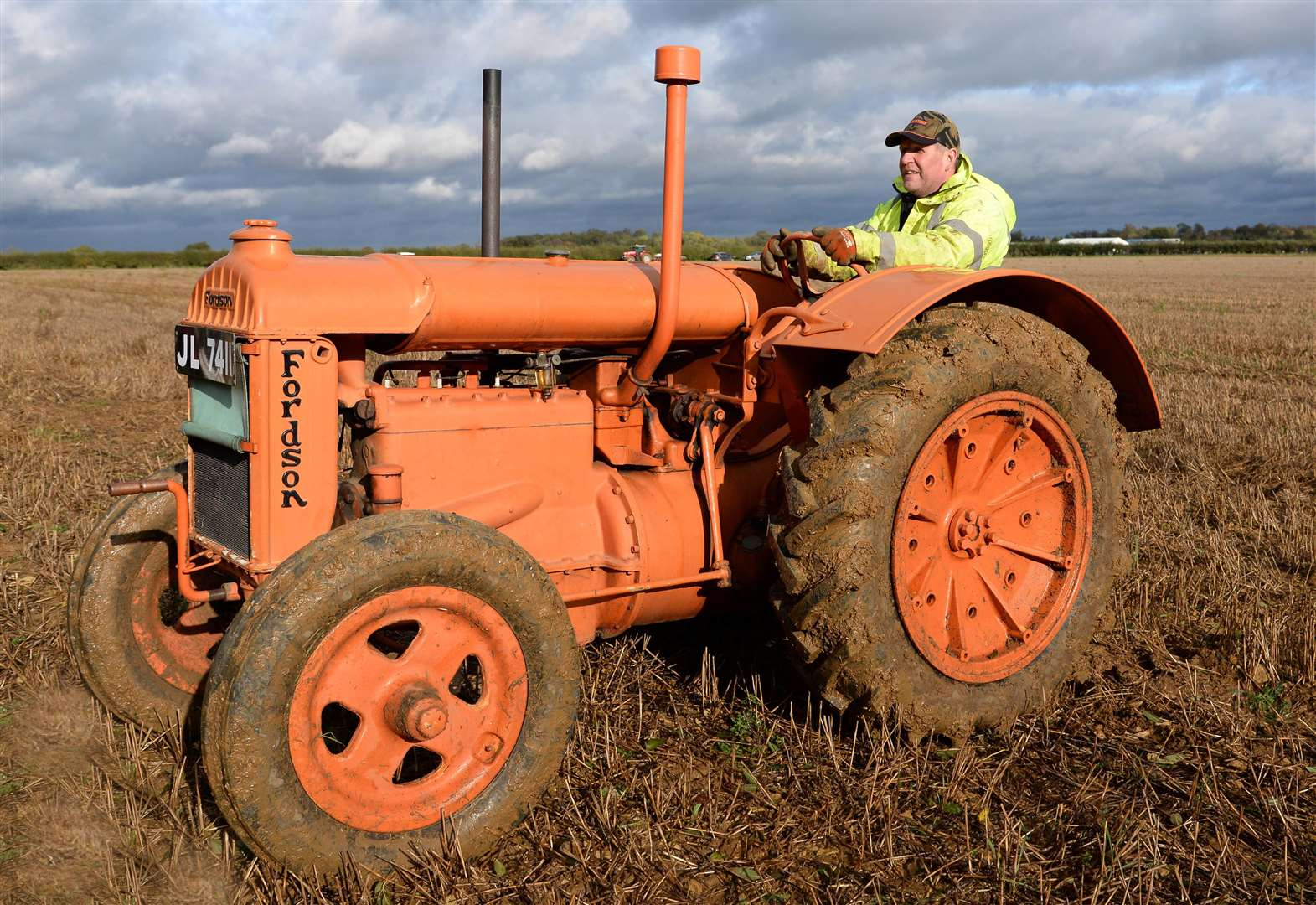 Rutland ploughmen brave wet and mud in annual competition