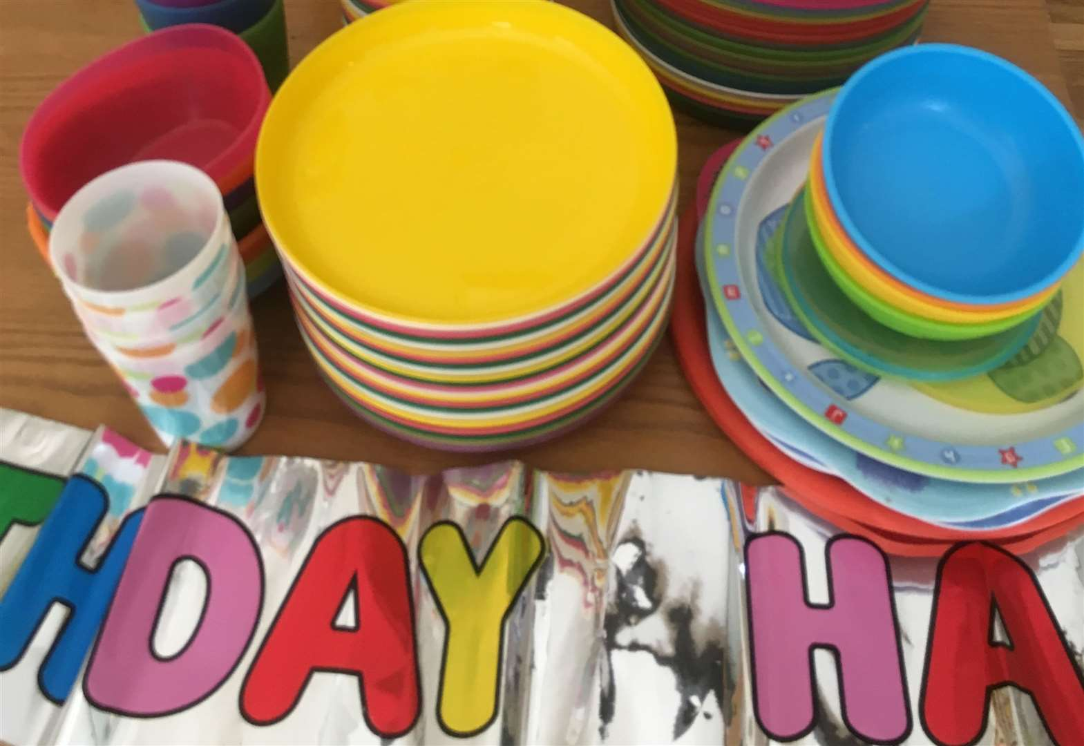 School launches 'party plate pack' in a bid to reduce plastic waste