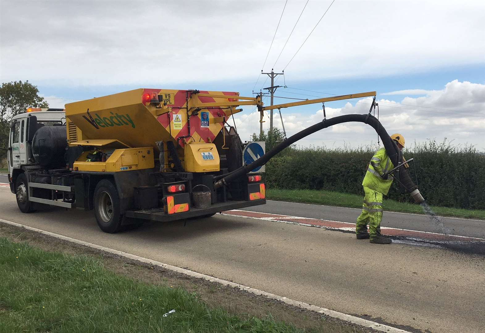 Council to invest £2.4m in county's roads