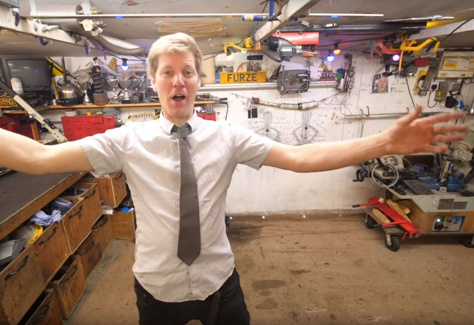 YouTube inventor Colin Furze reaches a billion video views