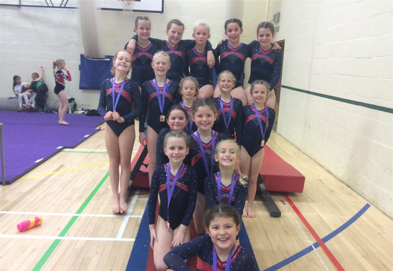 GYMNASTICS: Stamford set standard at coveted competition