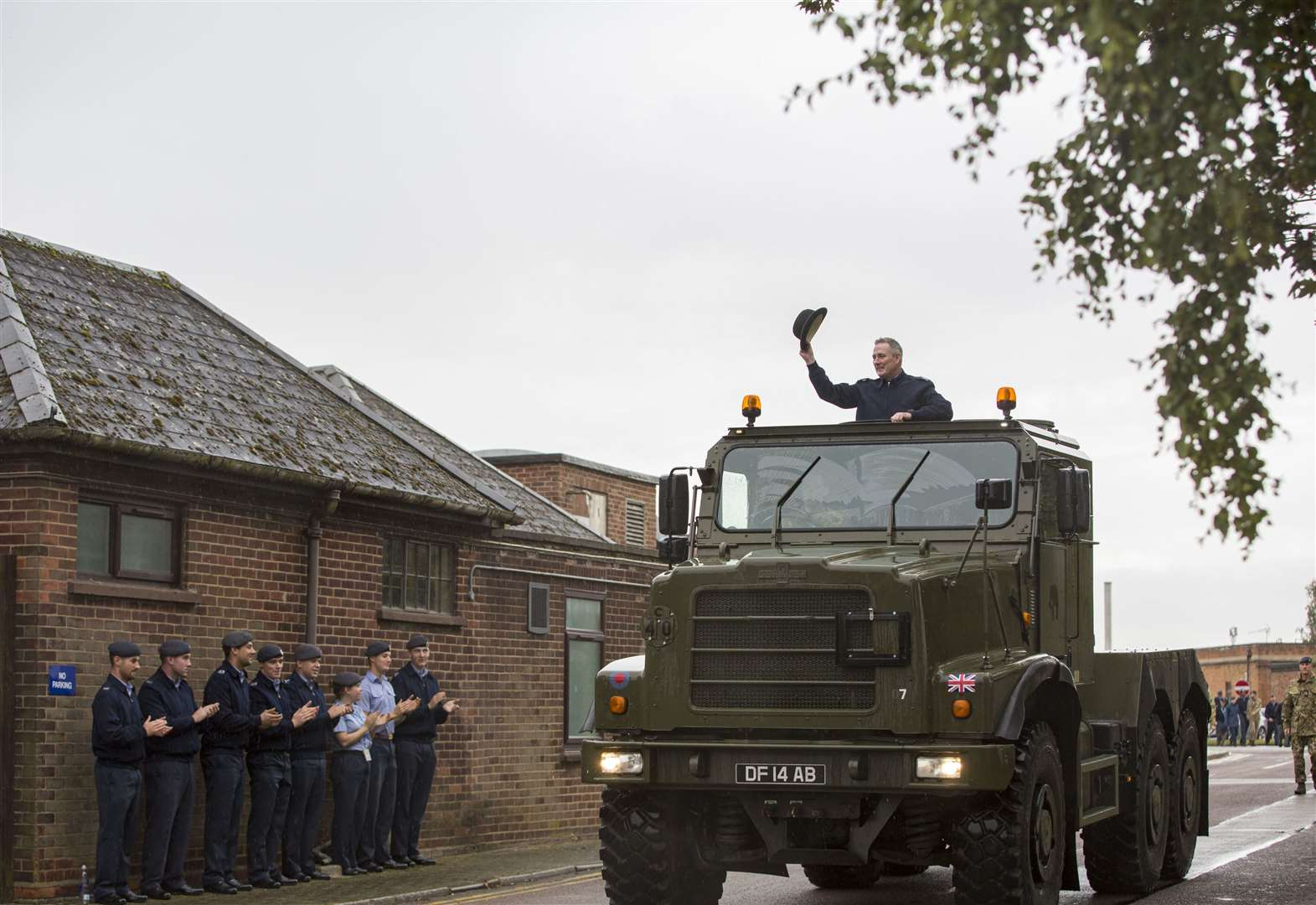 A4 Force warrant officer retires from RAF Wittering
