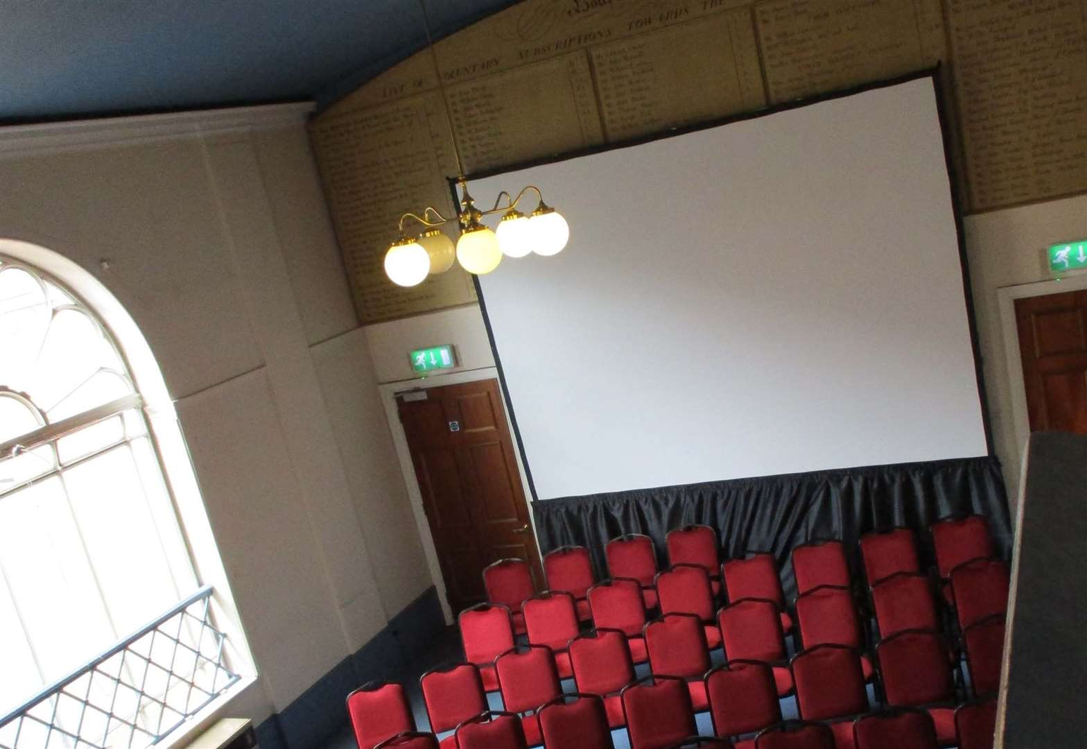 Cinema pops up at Bourne Town Hall