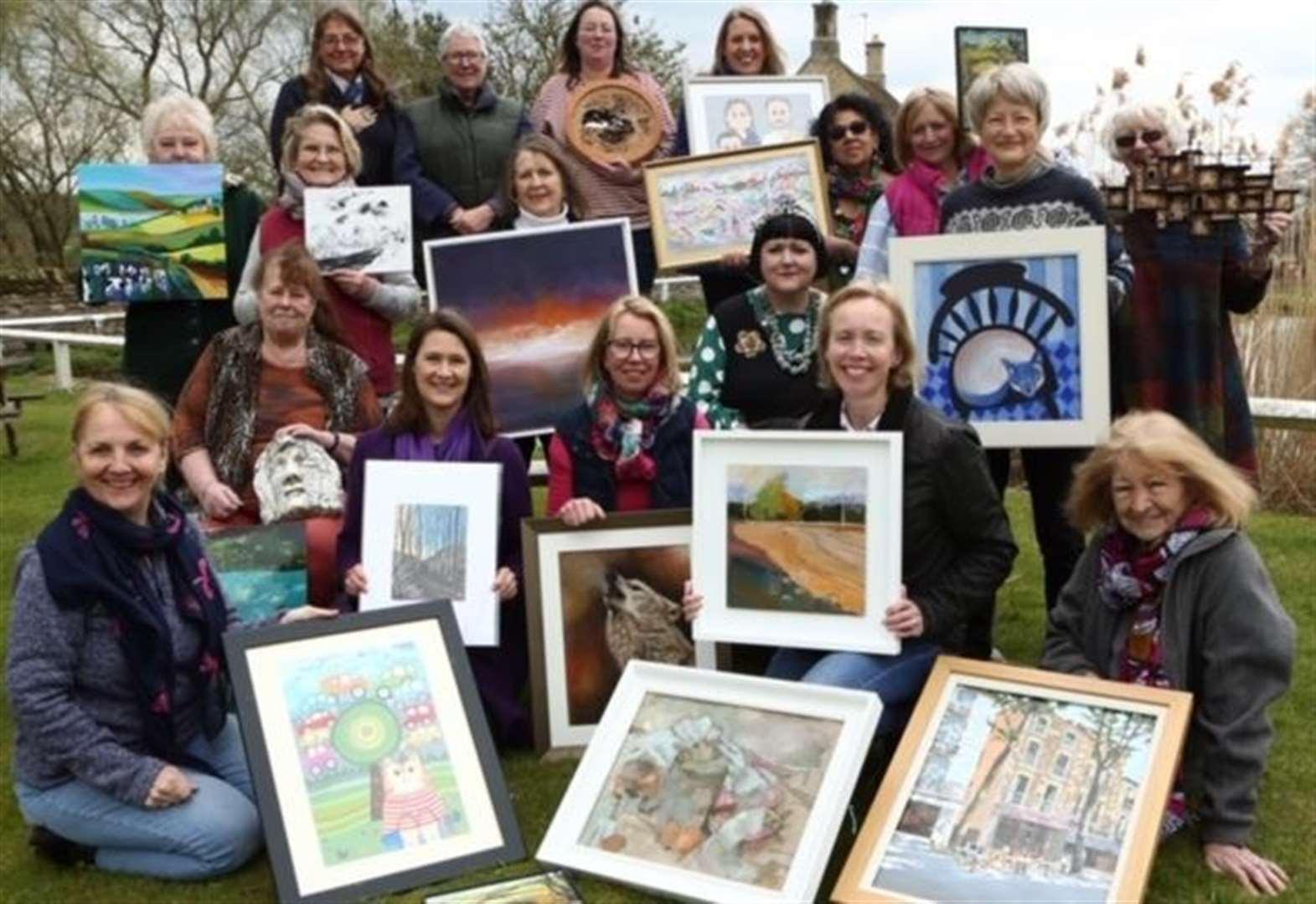 Weekend art exhibition gets underway