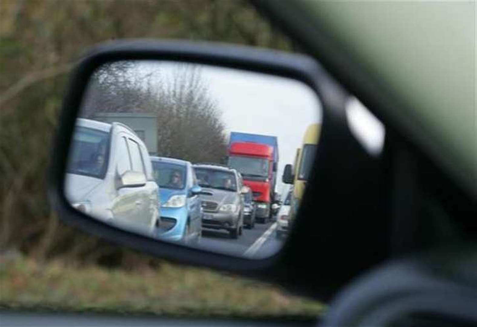 Lorry crash causing A1 delays
