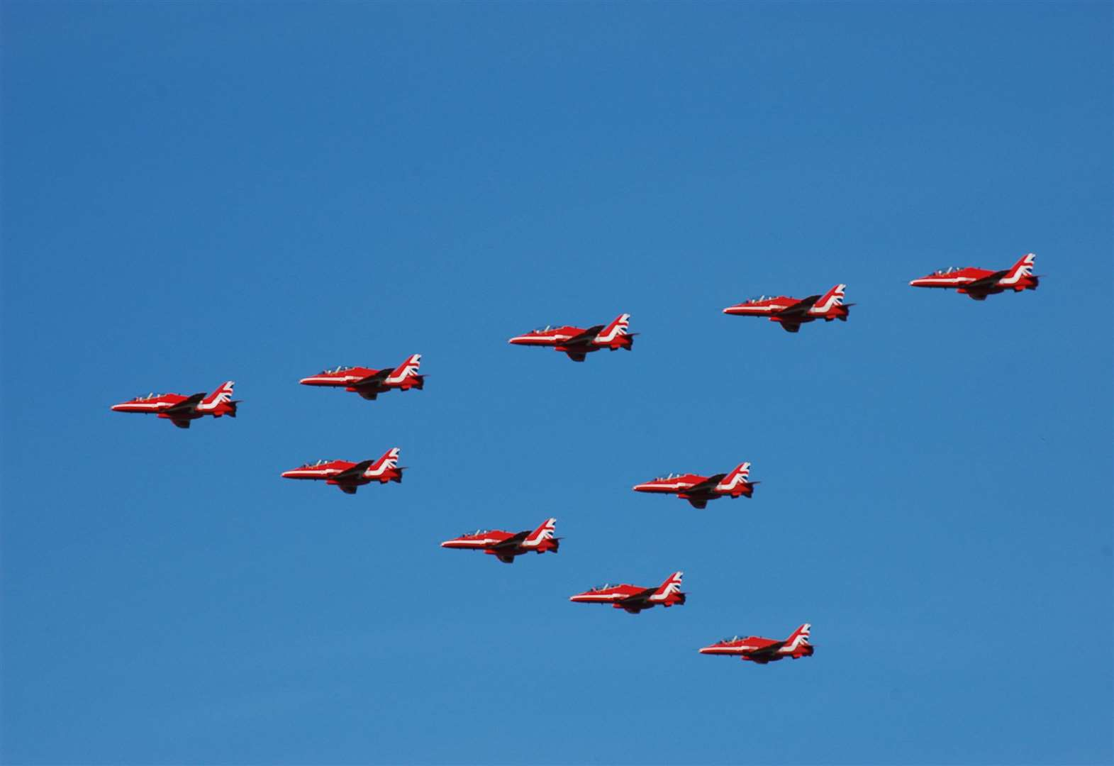 The Red Arrows could be coming to RAF Wittering