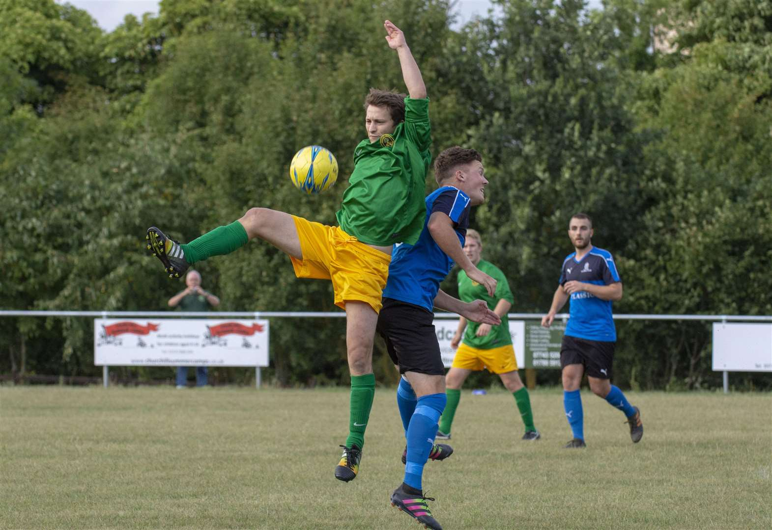 FOOTBALL: Rutland rivals share the spoils in derby duel