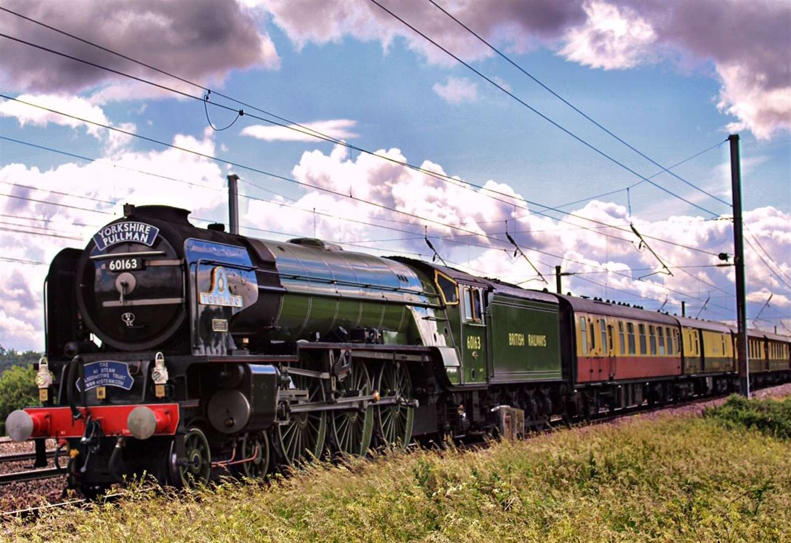 Where to be to see the Tornado steam locomotive
