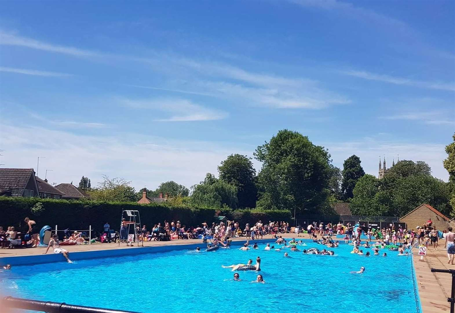 Outdoor pool to re-open