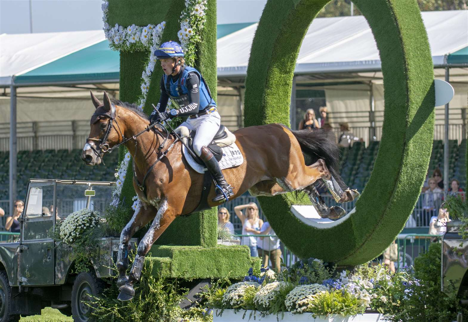 Burghley Horse Trials: Huge crowds attend outstanding competition