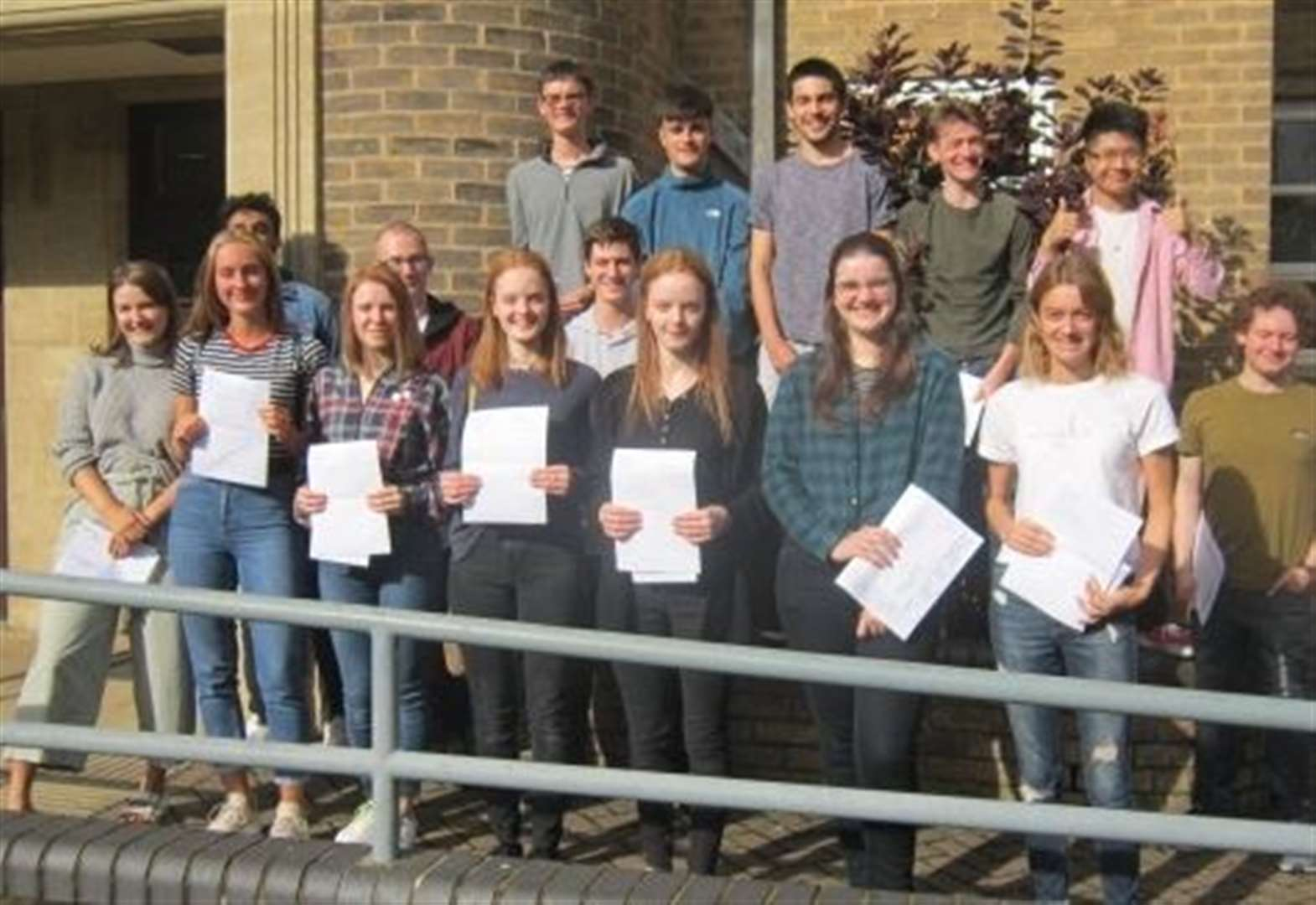 A-level Results Day 2019: Arthur Mellows Village College in
