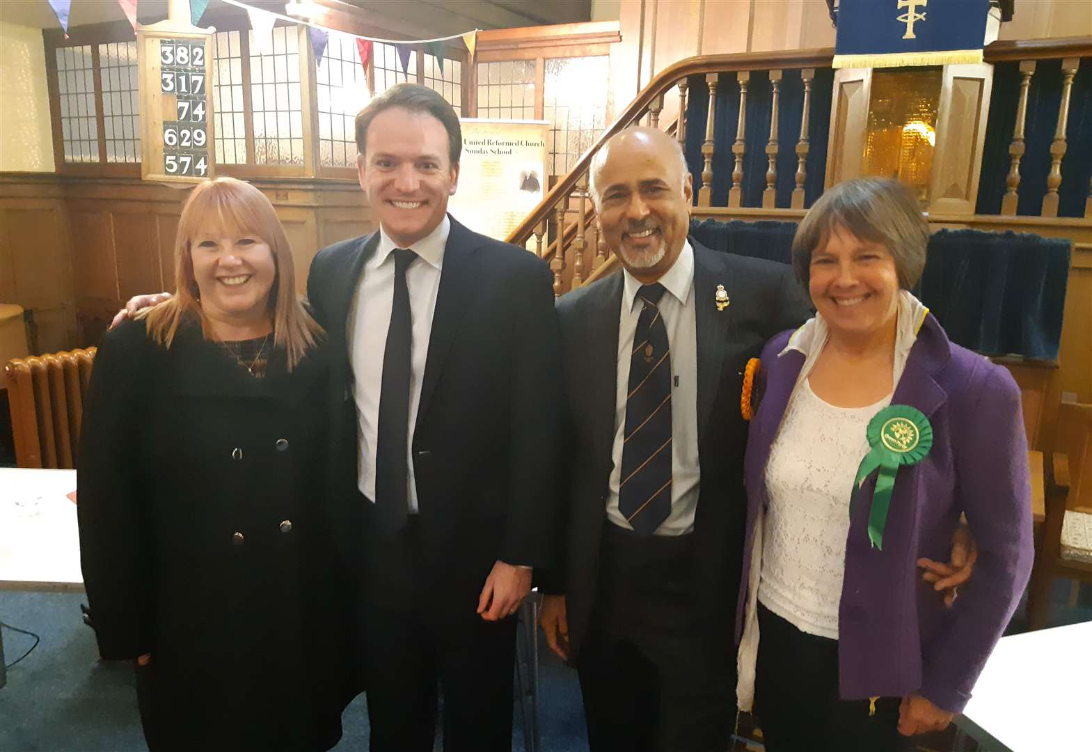 General Election candidates debate at hustings