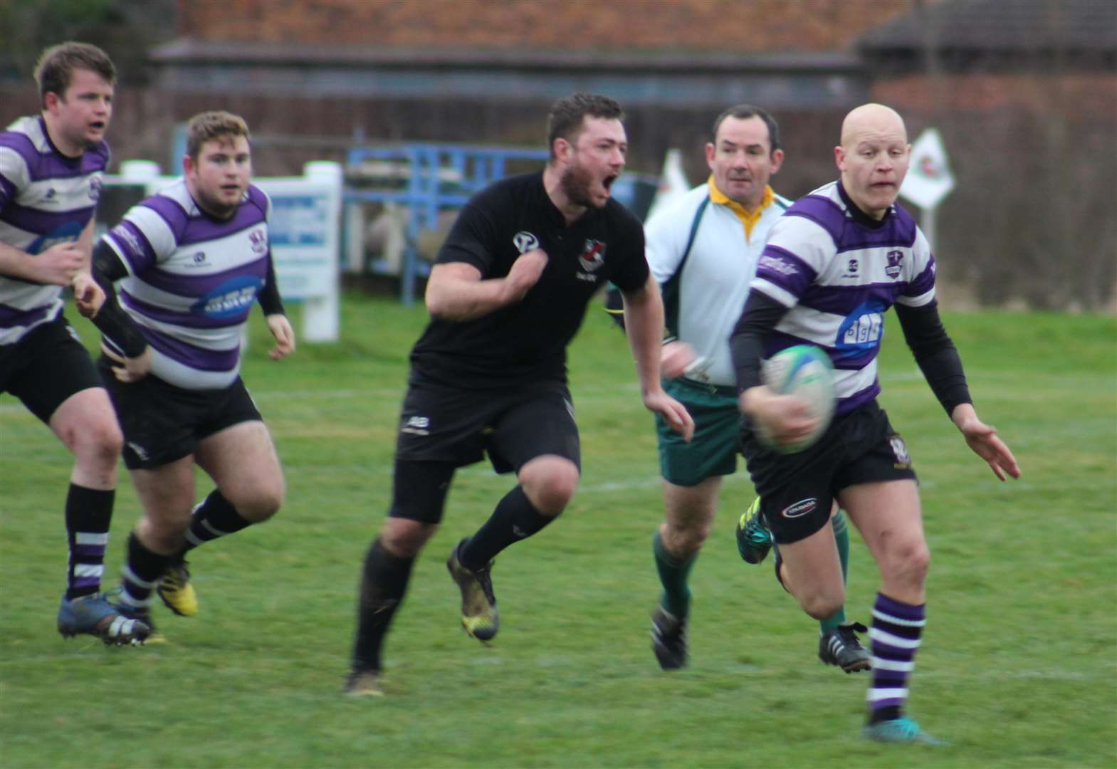 RUGBY UNION: In-form Stamford secure seventh successive bonus point victory