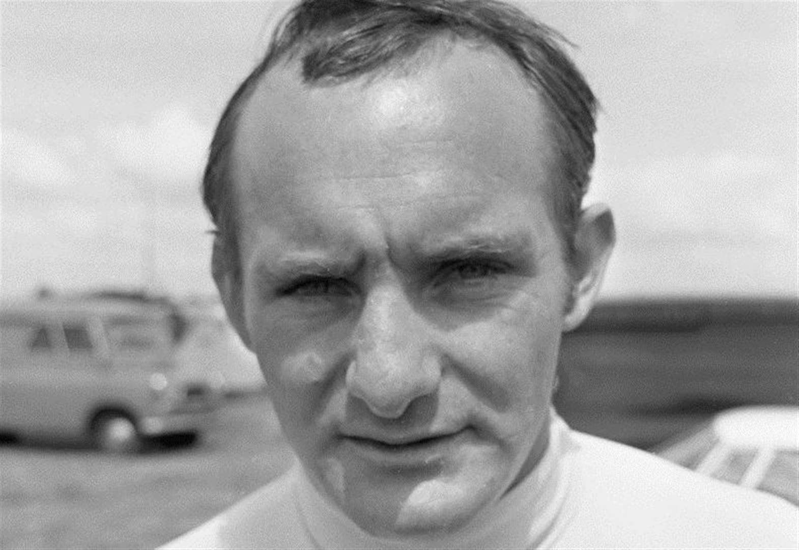 Mike Hailwood film at Bourne Motor Racing Club's meeting at Bourne Corn Exchange on Thursday