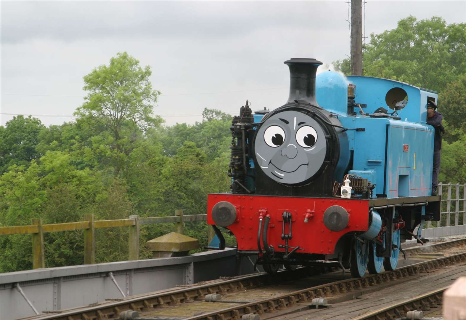Thomas in steam at Nene Valley Railway this weekend