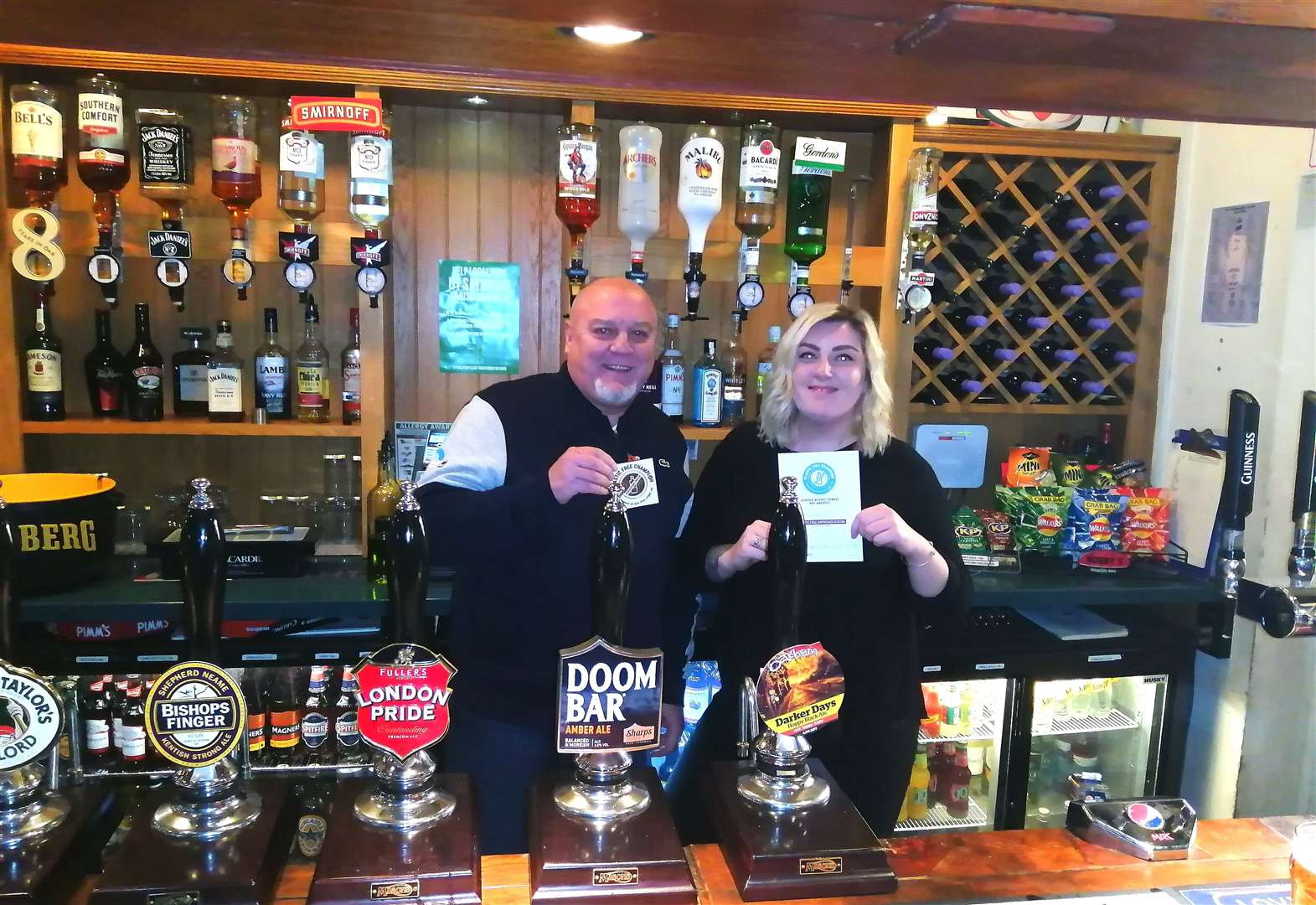 Pub is town's first plastic free champion