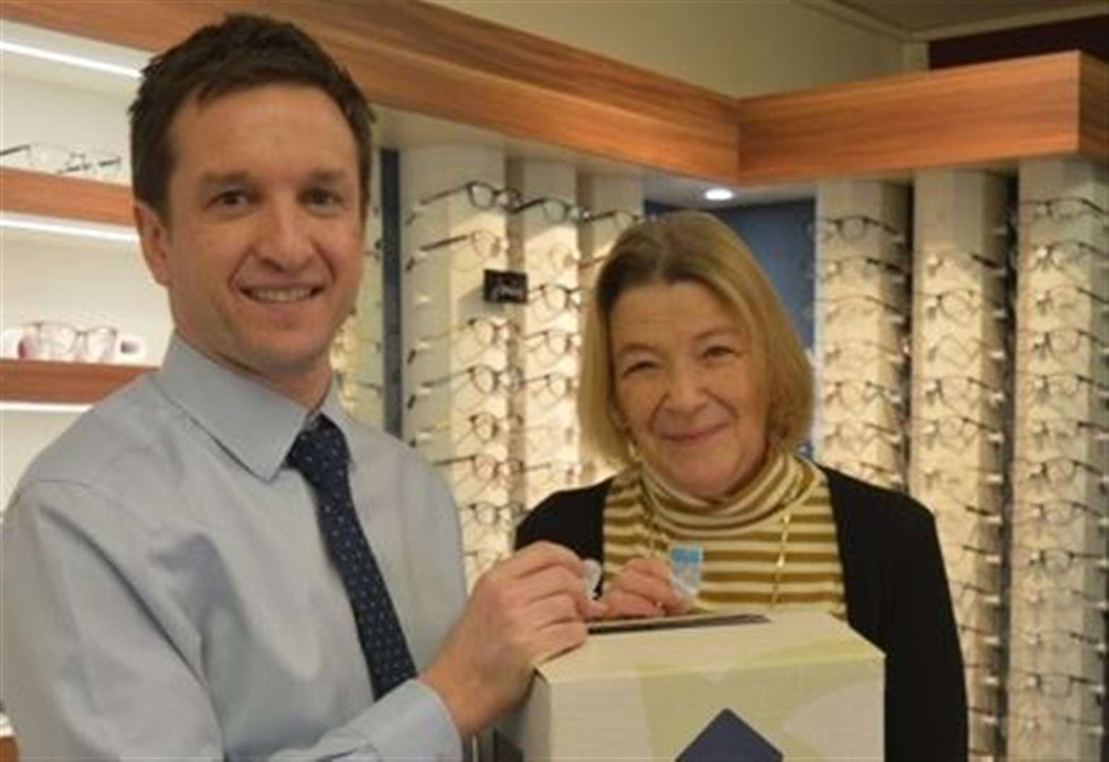 Optometrists get involved in innovative recycling scheme