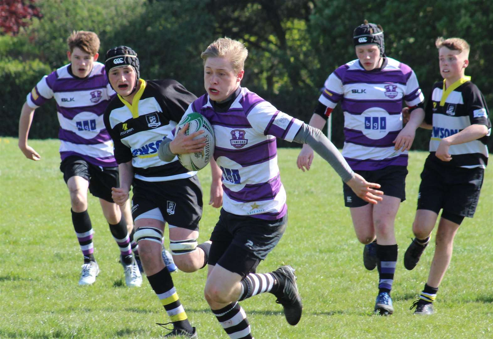 RUGBY: Season finishes on a high with emphatic home win