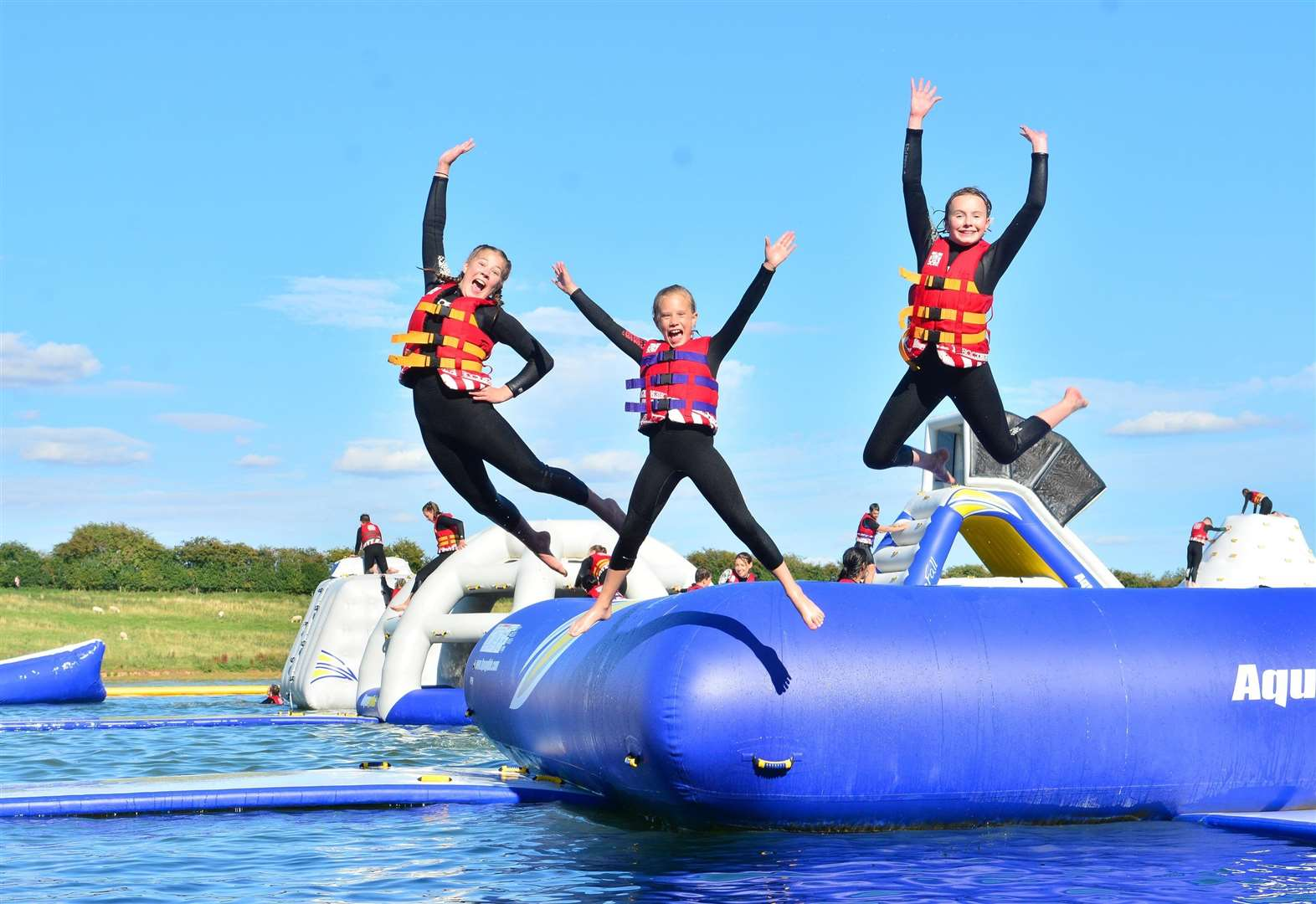 Sessions for children at Aqua Park