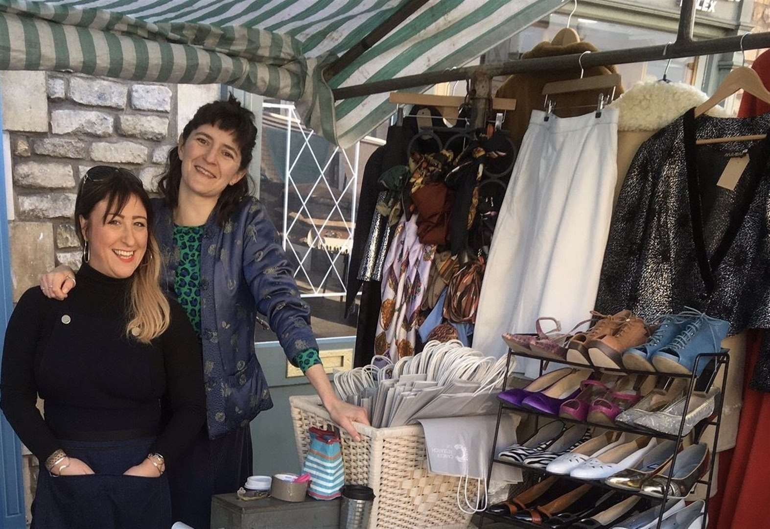 Vintage pop-up shop to support charity