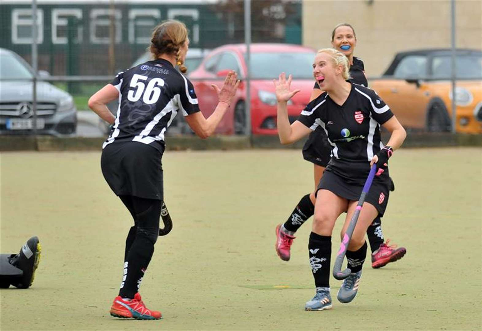 HOCKEY: Kirsty claims four goals to settle clash of the club-mates
