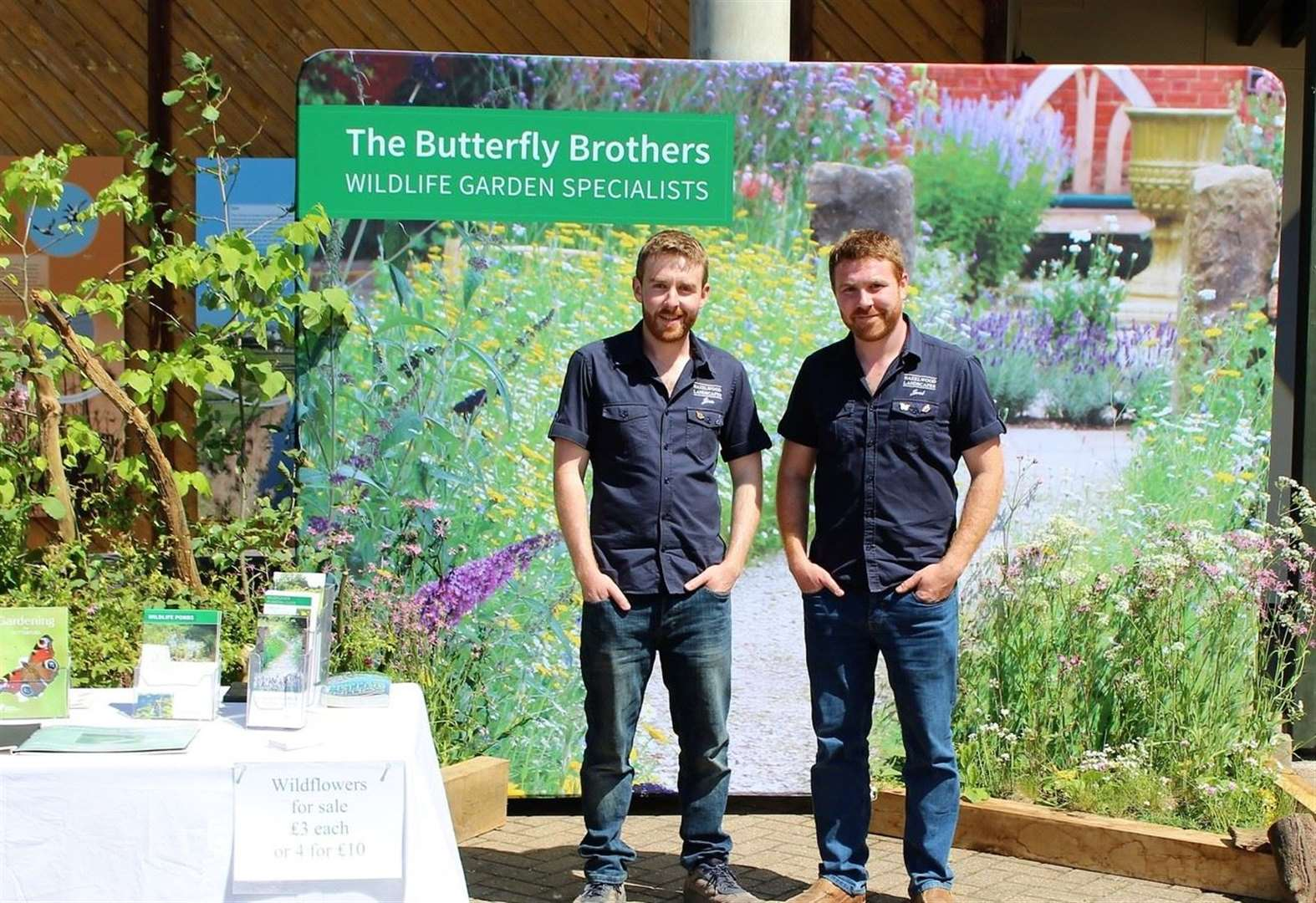 Butterfly Brothers of Bourne report 'horrendous' amount of work coming in after appearance on BBC2's Gardeners' World