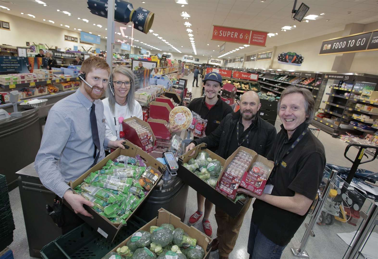 Oakham supermarket is donating surplus food to charities