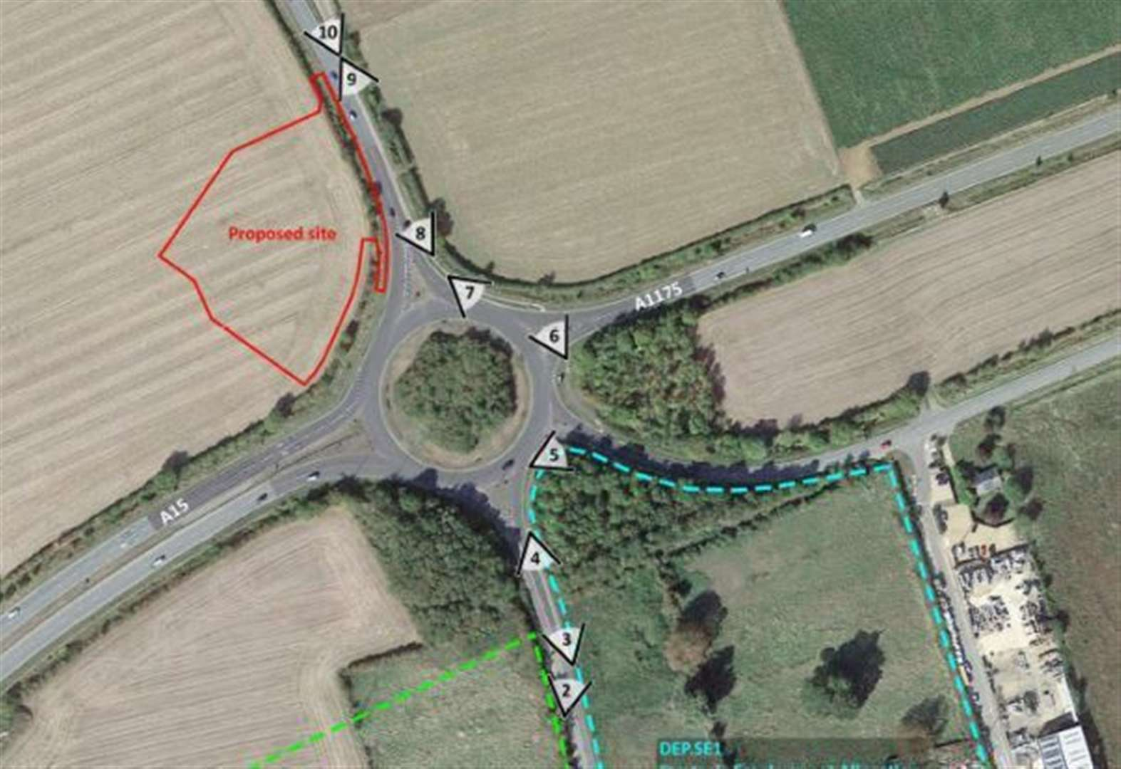 BP and Marks and Spencer plans for petrol station refused at Market Deeping