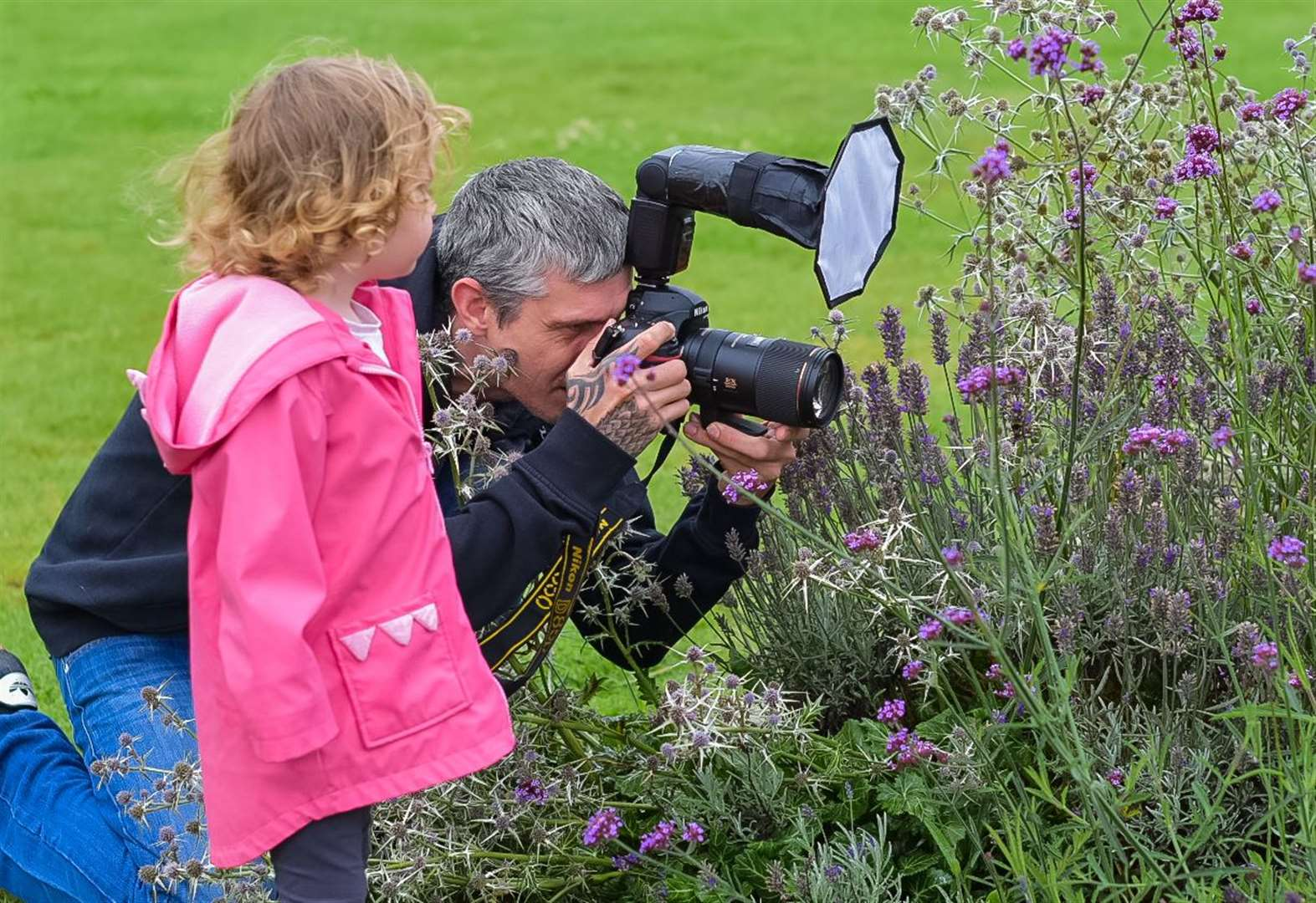 What is the rare insect photographer Nick thinks may be a first for Rutland?