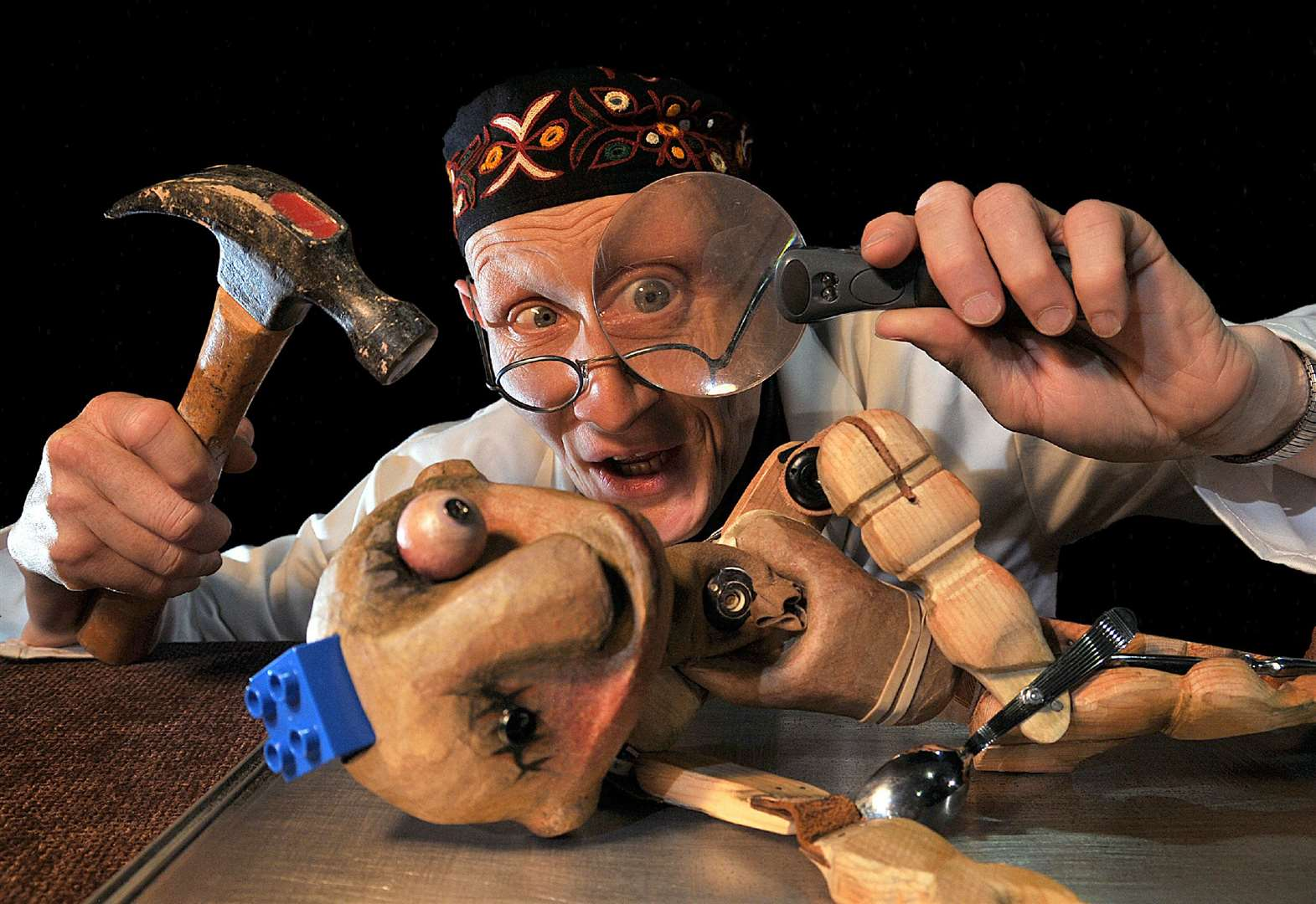 Puppet show will tickle the imagination of its audience at Stamford Arts Centre on Saturday