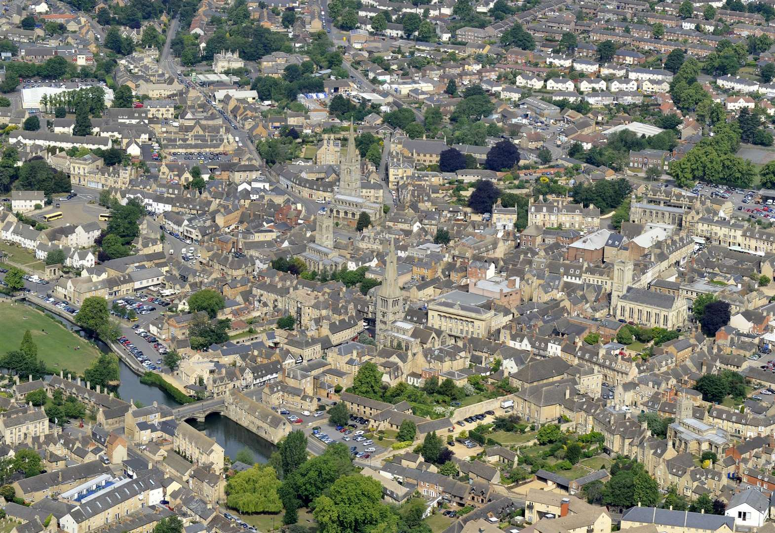 It's 60 per cent more expensive to live in Stamford than the rest of Lincolnshire according to new research by Lloyds Bank