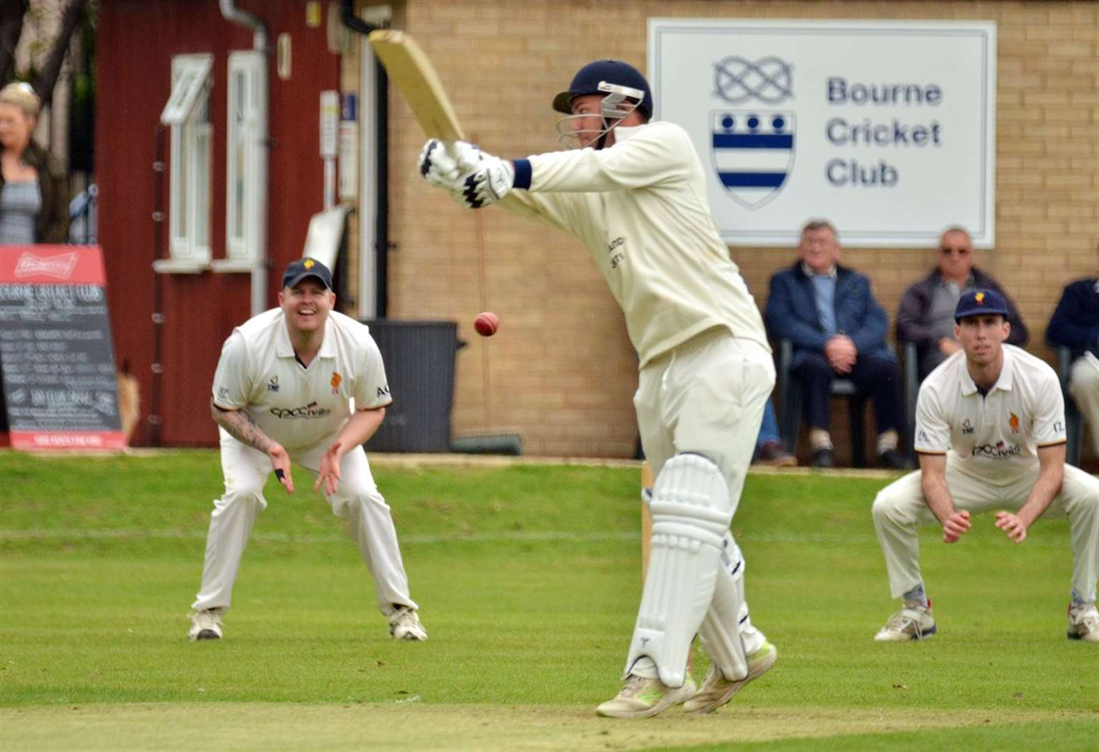 CRICKET: Third successive victory for Bourne after nail-biting home triumph