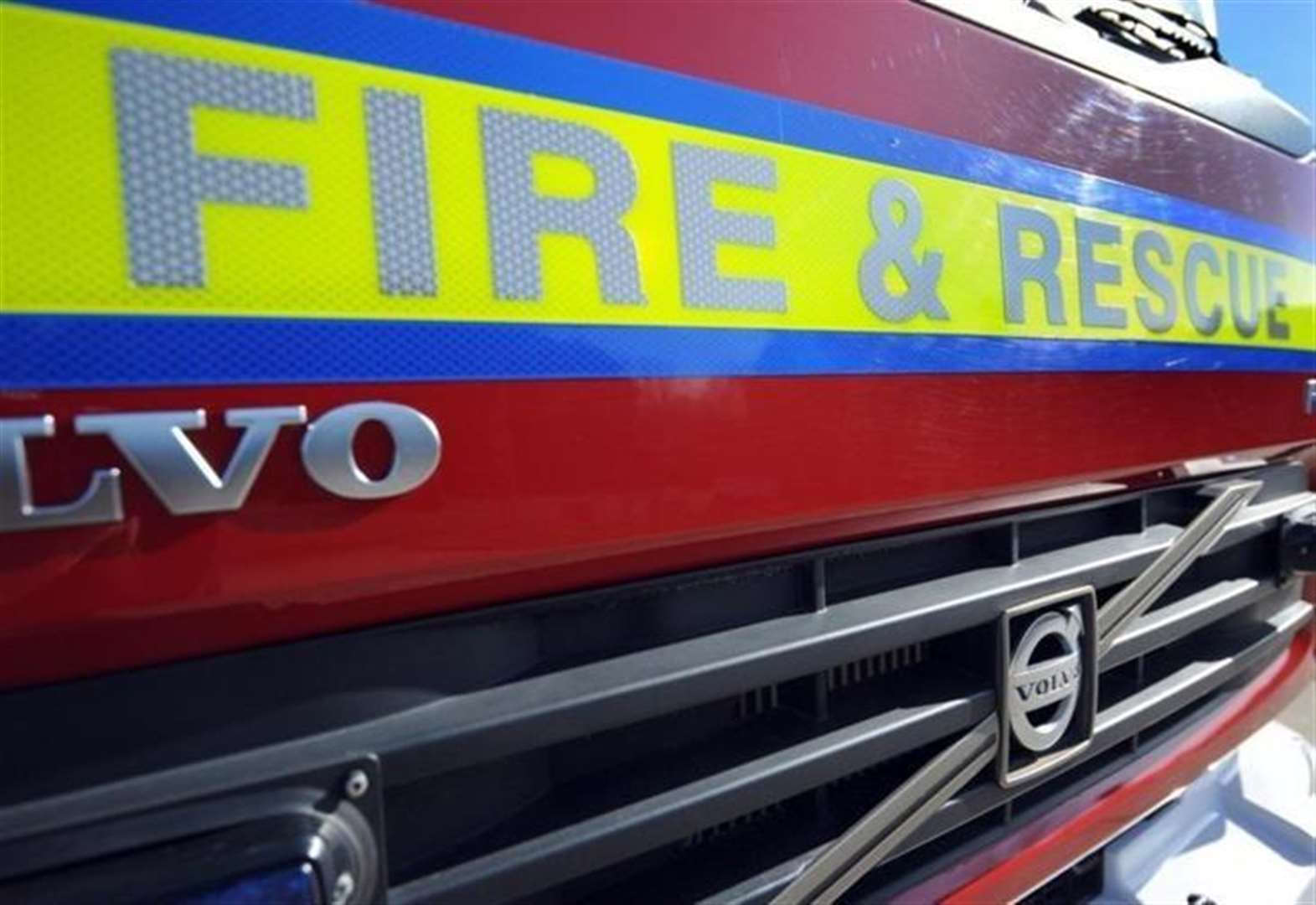 Crews attend vehicle fire in Tallington